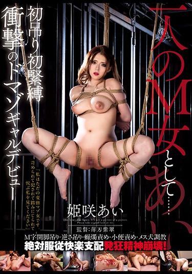  HNM-007  作為一個M女人… 第一掛第一BDSM衝擊多馬佐加爾德布特公主薩基愛 绳索&关系 耻辱 特色女演员 紧缚